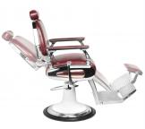 El Patron Barber Chair Dark Red 1